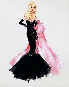 Barbie a true fashionista