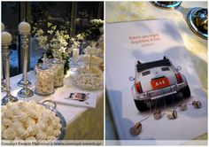 Wedding reception custom made guest book by Concept Events Planning | www.concept-events.gr