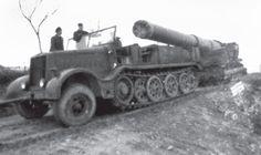 austrått fort 1940, Moveing the canon