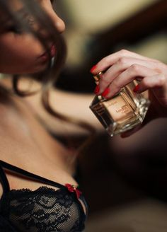 And God created woman.woman, black lace lingerie bra and sexy perfume Photography Tattoo, Boudoir Photography, Francis Kurkdjian, Just Girly Things, Girly Girl, Perfume Bottles, Sexy Women, Glamour, Photoshoot