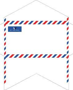 Best Envelopes Images On Pinterest Envelopes Packaging And - Mail envelope template