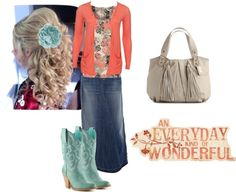 """""""Coral, Aqua, Beige"""" by trinity-holiness-girl on Polyvore"""
