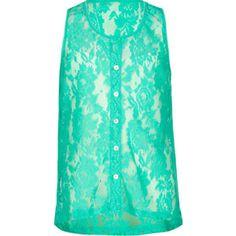 FULL TILT Essential Girls Lace Placket Tank 211693524   Essentials   Tillys.com #FPSpringStyle