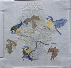 Sew in Love: Birds, Bluetits and Seedheads cross stitch