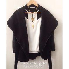 NEW ARRIVALS || Fancy leather jacket || • Para comprar en cualquier ciudad de Colombia puedes entrar en www.miroperotienda.com o en Bogotá showroom av cra 15 no 124-67 oficina 605 frente a unicentro, también puedes programar servicio a domicilio! #fashion #kimono  #tissuekimono #tiendasmodabogota  #tissue  #tejidos #cuero #leathertissue