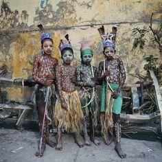 Les Indians, Jacmel, Haiti, 1997  Phyllis Galembo  1997