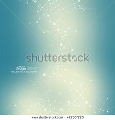 Stock Images similar to ID 321587084 - poliygonal form with dots and...