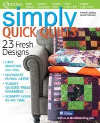 Simply Quick Quilts Special Issue, Autumn 2013