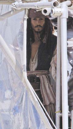 Johnny Depp as Captain Jack       http://cbpirate.com/main/lmiller7