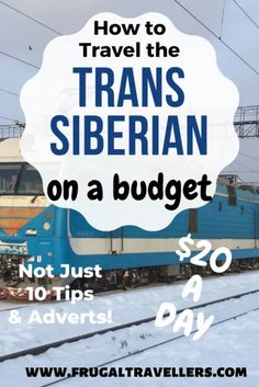 How to travel the Trans Siberian on a budget - Frugal Travellers. The ultimate guide to how to travel the Trans Siberian on a backpackers budget. Europe On A Budget, Budget Travel, Trans Siberian, Travel Guides, Travel Tips, Travel Advice, Train Journey, Top Travel Destinations, Adventure Activities