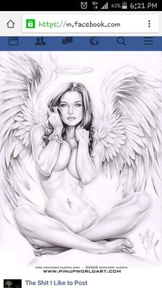 pencil drawings of angels and demons Pencil Drawings, Art Drawings, Tattoo Drawings, Angel Drawing, Drawn Art, Hand Drawn, Ange Demon, Angel And Devil, Chicano Art