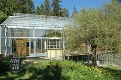 Naturhus: An Entire House Wrapped in Its Own Private Greenhous...