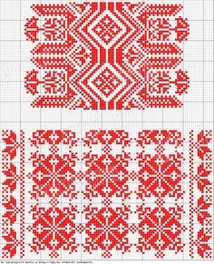 pattern - Magyar Népművészet II. Silágysági hímzések