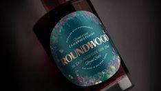 Agency Butterfly Cannon Designs Bottle Inspired By Forest Near RoundWood Gin's Distillery