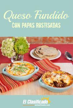 Receta del Chef Eduardo Ruiz y Las Palmas® para celebrar el Mes de la Herencia Hispana - See more at: http://articulos.elclasificado.com/recetas-y-menus/recetas-comida-mexicana/queso-fundido-con-papas-rostizadas/#sthash.uH8k5exH.dpuf