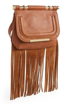 Steve Madden 'Blottie' Fringe Crossbody Bag available at #Nordstrom