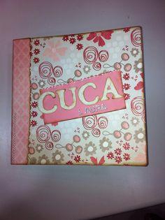 Álbum de fotos personalizado CUCA