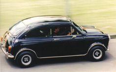 1966 Morris Mini Coopers' Monaco coupe by Buckle Mini Cooper Classic, Classic Mini, Mini Cooper S, Classic Cars, Mini Countryman, Mini Clubman, Car Fails, Minis, Mini Trucks