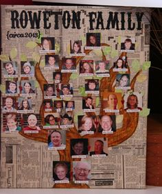 Family Tree Craft | Life Moves Pretty Fast