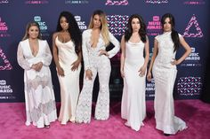 BEST: Ally Brooke, Normani Kordei, Dinah Jane, Camila Cabello, and Lauren Jauregui of Fifth Harmonylooked totally angelic in coordinated white looks. You gotta work! (Photo by Mike Coppola/Getty Images for CMT)  via @AOL_Lifestyle Read more: http://www.aol.com/article/2016/06/09/viewers-unimpressed-by-the-lack-of-country-music-at-the-cmt-awar/21392229/?a_dgi=aolshare_pinterest#fullscreen