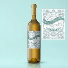 A choice of Premium White Wines The label can be personalised with your message to create a humorous and wonderful unique gift! For more information on this item and more visit our online shop. Ripe Peach, Personalized Labels, Sauvignon Blanc, Happy Fathers Day, Whiskey Bottle, Unique Gifts, White Wines, Alcohol, Vintage