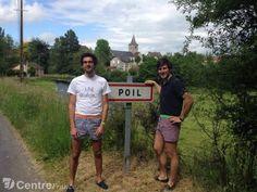 Entrepreneurs ironique,  fallait osez,  ils l'ont fait !!  www.lejdc.fr - Morvan - POIL (58170) - Deux Nivernais créent leur marque de caleçons à Poil dans la Nièvre