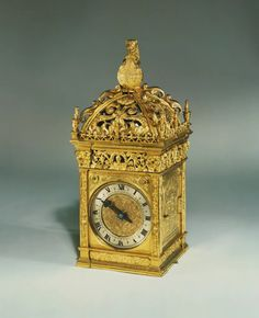 Anne Boleyn Clock, reputed to have been given by King Henry VIII to Anne Boleyn on the morning of their marriage in 1532, Royal Collection Trust/© Her Majesty Queen Elizabeth II 2017