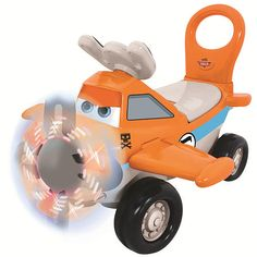 "Dusty Plane Activity Ride On - Kiddieland Toys Ltd. - Toys ""R"" Us"