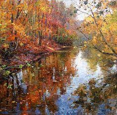Великолепная осень от разных Художников.   World of Art