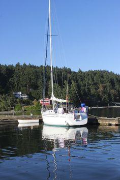 Port Browning Marina, North Pender Island, BC
