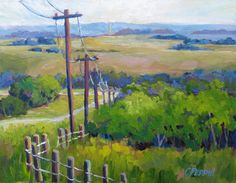 Taking My Time; Not in a Hurry – South of Hwy on Hwy Looking Northwest at mid-day Original oil painting on panel by Cheryl Peddie Take My Time, No Time For Me, In A Hurry, Canadian Artists, Painting, Painting Art, Paintings, Painted Canvas, Drawings