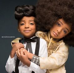 Adorable Curly Haired Kids