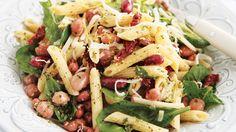 Salade de légumineuses et de pâtes à la toscane  #IGA #Recettes #Salade