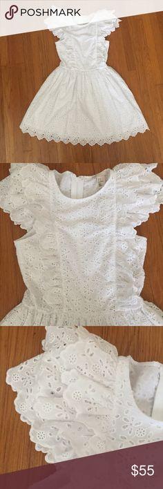 • H&M • White Eyelet Ruffle Dress NWT Size 2. NWT. Premium quality H&M Dresses