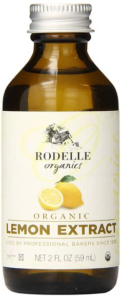 Rodelle Organics Pure Lemon Extract, 2 Ounce -- Read more reviews of the product by visiting the link on the image.
