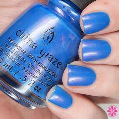 China Glaze Spring 2016 House of Colour Collection; Come Rain Or Shine
