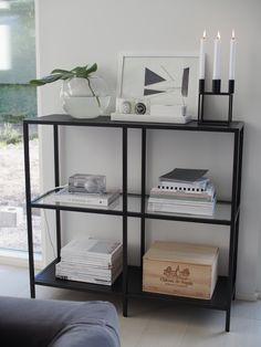 Kuistin kautta: Sisustusalttarini ja Kubus-kynttelikkö / Ikea Vittsjö