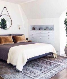 Classic house, bedroom interior ideas