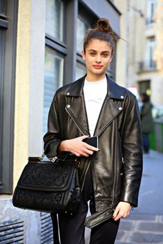 Taylor Marie Hill - Paris Fashion Week Fall 2015-16 by modelsjam.