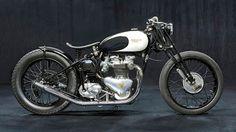 Triumph 500 1953 Berham Customs