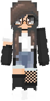 Minecraft Skins Girl Wolf, Minecraft Skins Kawaii, Minecraft Skins Female, Minecraft Skins Aesthetic, Cool Minecraft, Minecraft Houses, Minecraft Creations, Minecraft Designs, Capas Minecraft