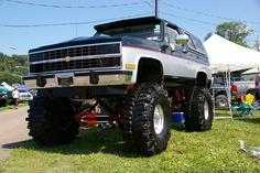 Chevy K5 Blazer by geepstir, via Flickr