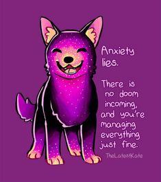 Mental health anxiety lies