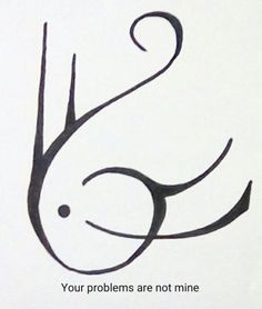 """ваши проблемы не мои Sigil Athenaeum — Could you do a sigil for """"my past does not bother..."""