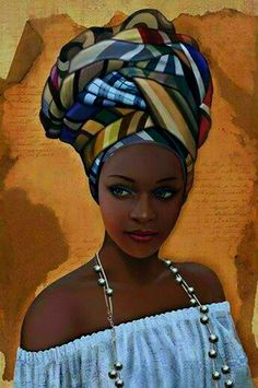 African in White – Counted Cross Stitch Patterns – Ankicoleman Designs Cross Stitch Black Girl Art, Black Women Art, Art Girl, African Beauty, African Women, African Paintings, African Artwork, Foto Poster, Natural Hair Art