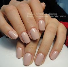 On average, the finger nails grow from 3 to millimeters per month. If it is difficult to change their growth rate, however, it is possible to cheat on their appearance and length through false nails. Squoval Acrylic Nails, Nail Shapes Squoval, Nude Nails, Nails Shape, Blush Nails, Stiletto Nails, Manicure, Uñas Fashion, Nail Polish