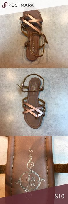 Sole Mates Rose Gold Amputee Single Sandal L8/9 Single Sandal  NWOT Rose Gold Style: BOBO Casual flat strappy Sole Mates Shoes Sandals