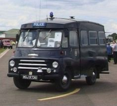 Police 'Black Maria'. This would make a cool camper :-)