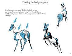 Sketching Deer - Martin Wittig