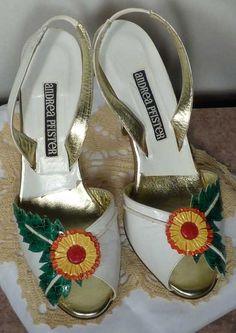 shoes - Andrea Pfister - flower design